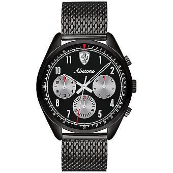 Se Ferrari 830573 - Multifunktion stål sort mand