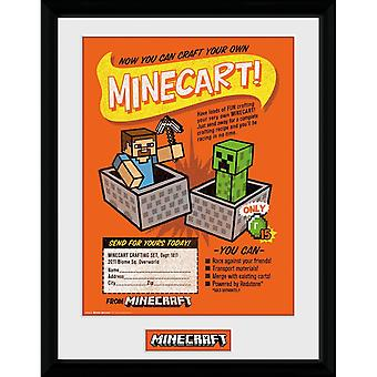 Minecraft - Painting, Craft Your Own Minecart