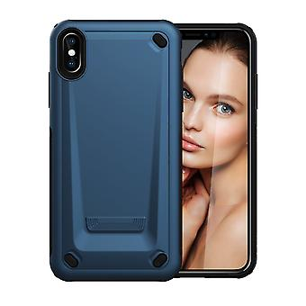 For iPhone XS Max Case Blue Strong Shockproof Protective Cover