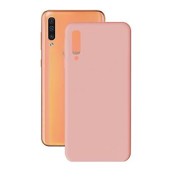 Protection pour téléphone portable Samsung Galaxy A30/a50 Soft Cover TPU Rose