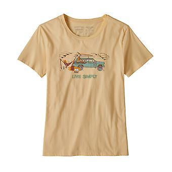 Patagonia Women's T-Shirt Live Simply Lounger Organic Crew