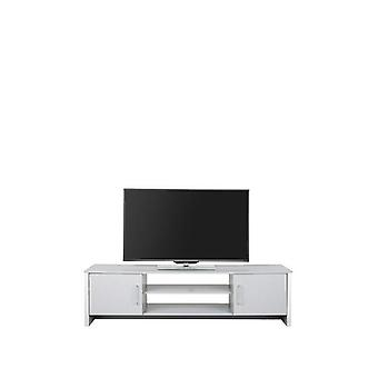 Riga Light Grey 2 Door TV Unit Fits up to 64 inch TV RRP £169