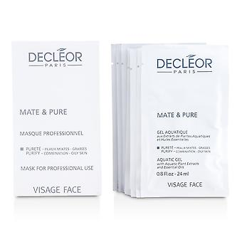 Mate & pure mask vegetal powder combination to oily skin (salon size) 48993 10x5g
