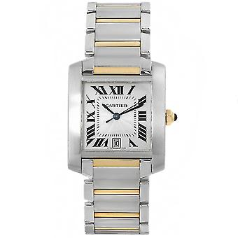 Cartier Men-apos;s Tank White Watch - W51005Q4