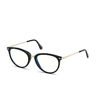 Tom Ford TF5640-B 001 Skinnende sorte briller