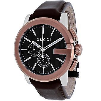 Gucci Men-apos;s G-Chrono Black Watch - YA101202