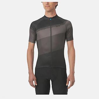 Giro Chrono Sport Kortermet trøye 2020: Svart/klassisk Stripe S