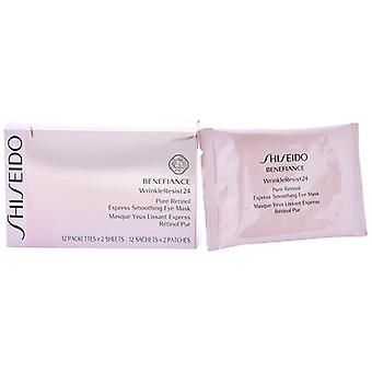 Anti-Wrinkle Patches for the Eye Area Benefiance Wrinkle Resist Shiseido (12 uds)