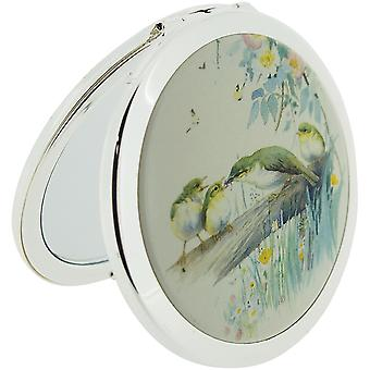 Stratton Compact Mirror Ladies Heritage Collection 3X Magnification Double Pocket Mirror (Country Diary)