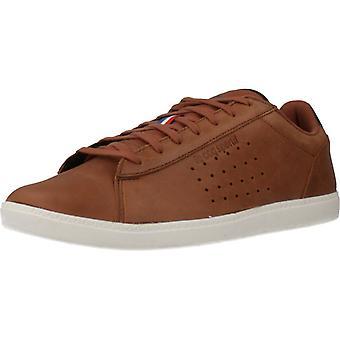 Le Coq Sportif sport/Courtstar winter lederen kleur kaneel schoenen