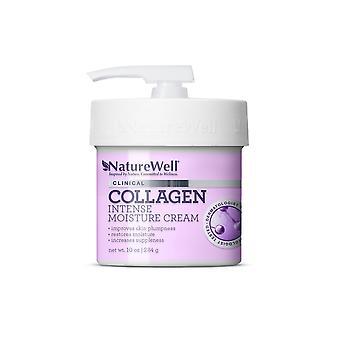 Naturewell Clinical Collagen Intense Moisture Cream 10 oz / 284 g