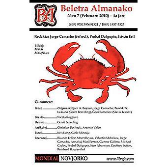 Beletra Almanako 7 Ba7  Literaturo En Esperanto by Camacho & Jorge