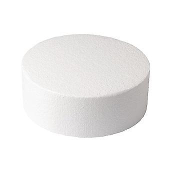 Culpitt Round Straight Edged Polystyrene Cake Dummy - 16&;