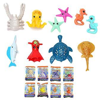 3-Pack Octonauts Octonauts Sea Creature Pack Sea World Animal Figures