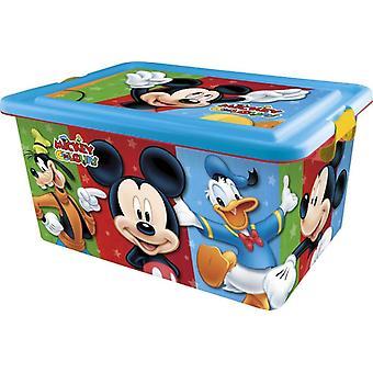Disney Mickey Mouse Contenitore Portagiochi 23 lt