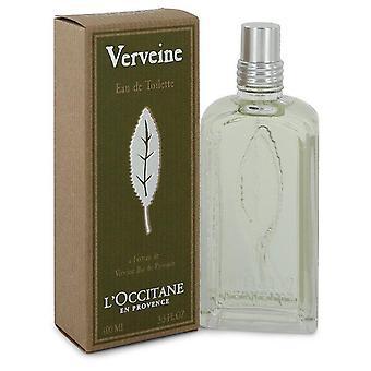 L'Occitane Verbena (verveine) Eau De Toilette Spray av L'occitane 3.3 oz Eau De Toilette Spray