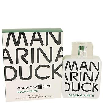 Mandarina duck black & white eau de toilette spray by mandarina duck 535321 100 ml