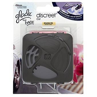 Glade Discreet Car Unit & Refill 12g - Relaxing Zen