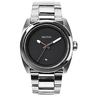 Nixon A507-000 The Kingpin Diamond Stainless Steel Watch - Zilver