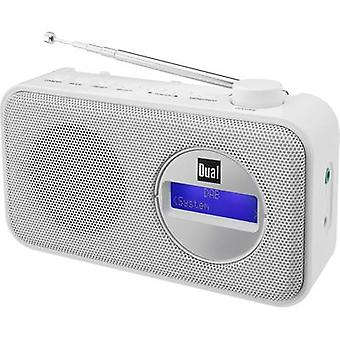 Dual DAB 84 Portable radio DAB+, FM White