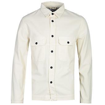 Albam White Cord Camicia a maniche lunghe