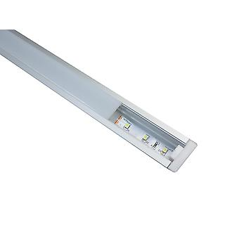 Jandei Profil Aluminium Strip Led 2m infällt golv, vägg, genomskinlig topp