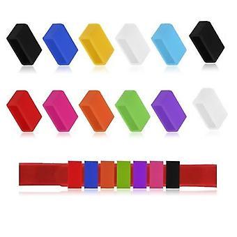 10x クラスプキーパープロテクターリングカバー Fitbit チャージHR リストブレスレットバンド[ホットピンク]