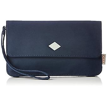 Oilily Groovy Clutch Mhf - Blue Women's Wrist bags (Dark Blue) 1x12x22cm (B x H T)
