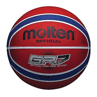 Molten GR7X Indoor Outdoor Rubber Basketball Ball Rouge/Bleu