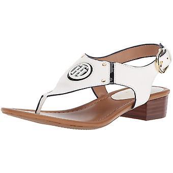 Tommy Hilfiger naisten T-KISSI Split toe rento slingback sandaalit