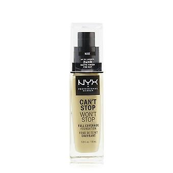 Nyx Can't Stop Won't Stop Full Coverage Foundation - # Naakt - 30ml/1oz