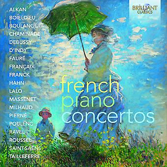 French Piano Concertos [CD] USA import