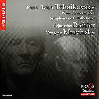 P.I. Tchaikovsky - Tchaikovsky: Piano Concerto No. 1; Symphony No. 6 Path Tique [SACD] USA import