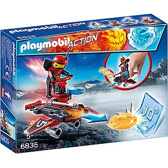 Playmobil 6835 Action Firebot med Disc Shooter