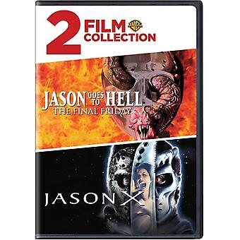 Jason Goes to Hell: The Final Friday / Jason X [DVD] USA import