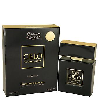 Lamis Cielo Classico Nero by Lamis Eau De Parfum Spray Deluxe Limited Edition 3.3 oz / 100 ml (Women)