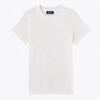 A.P.C.  - Aline - Embroidered T-shirt - White