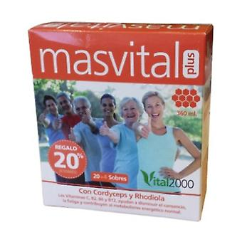 Masvital Plus 24 packets