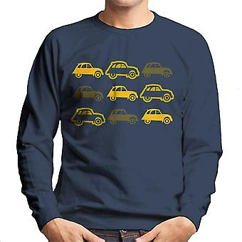Citro?n Vintage 2CV Pattern Men's Sweatshirt