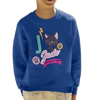 Littlest Pet Shop Jade Catitude Kid's Sweatshirt