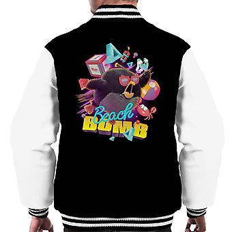 Angry Birds Beach Bomb Men's Varsity Jacket