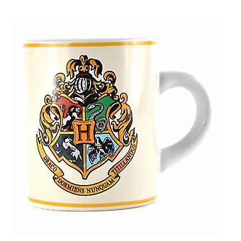Harry Potter Mug Hogwarts School Crest Logo Official Mini Espresso Ceramic 110ml