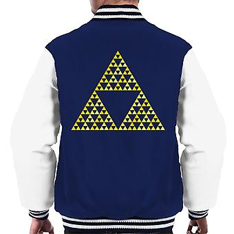 Legend Of Zelda Courage Wisdom Power Men's Varsity Jacket