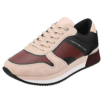Tommy Hilfiger Active City Sneaker Womens Fashion Trainers in Cameo Rose