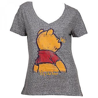 くまのプーさん愚かな古いクマの女性&アポ;s Tシャツ