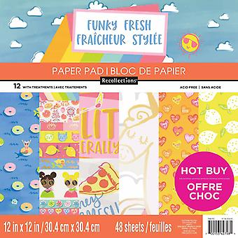 Craft Smith Funky Fresh 12x12 Inch Paper Pad