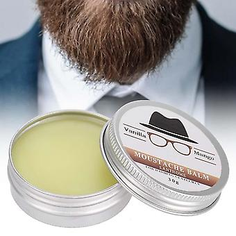 Mens Beard Grooming Wax Mustache Moisturizing Wax For Beard Smooth Styling