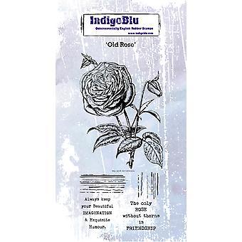 IndigoBlu Old Rose Rubber Stamp