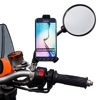 Ultimateaddons mirror stem motorcycle mount with one holder
