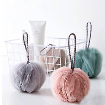 Bath Towel Bathroom Accessories, Shower Balls Pe Bath Ball Body Exfoliating